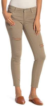 Tractr Fray Hem Destroyed Ankle Skinny Jeans