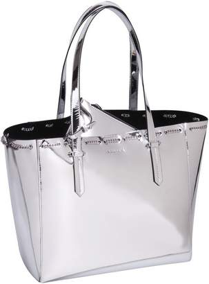 KENDALL + KYLIE Izzy Chain Tote - Sliver
