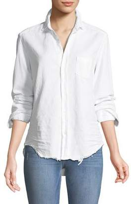 Frank And Eileen Eileen Long-Sleeve Button-Front Cotton Shirt