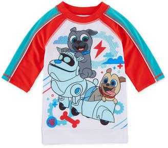 Disney Puppy Dog Pals Boys Rash Guard