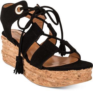 Andre Assous Brigitte Platform Espadrille Sandals $195 thestylecure.com