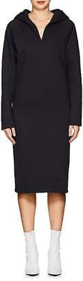 A PLAN APPLICATION Women's Cotton Fleece Hoodie Dress