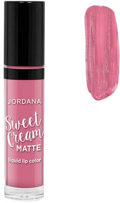 Jordana Sweet Cream Matte Liquid Lip Color - Rose Macaron