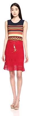 Desigual Women's Sarona Flat Knitted Sleeveless Dress