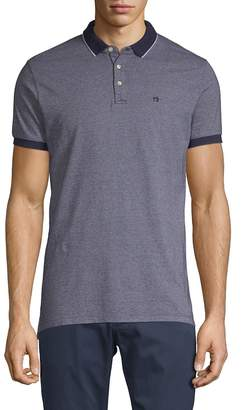 Scotch & Soda Men's Classic Two-Toned Pique Cotton Polo