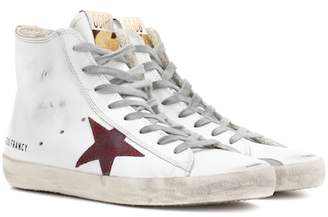 Golden Goose Francy high-top leather sneakers
