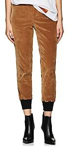 BEIGE VIS A VIS Women's Corduroy Jogger Pants - Beige, Tan