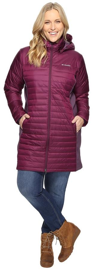 ColumbiaColumbia Plus Size Powder Pillow Hybrid Long Jacket