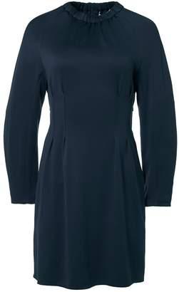 Tibi Astor Knit Short Corset Dress with Cut Out Back