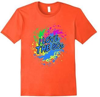 I Love the 80s T-Shirt - Eighties Neon Design