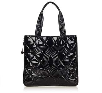 Chanel Vintage Wild Stitch Medallion Tote