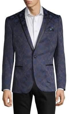 Satin Brocade Sport Coat