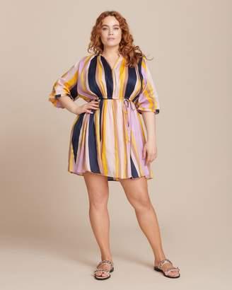 Apiece Apart La Flutte Mini Dress
