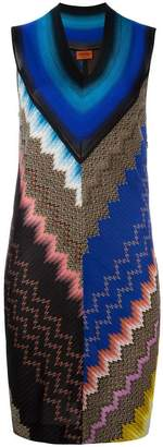 Missoni v-neck knitted dress