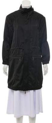 Halston Lightweight Knee-Length Coat