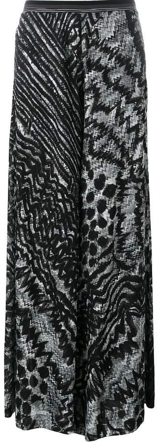 Missoni patterned knit palazzo trousers