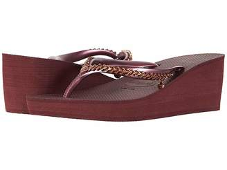 Havaianas High Metal Grega Flip-Flops Women's Slippers