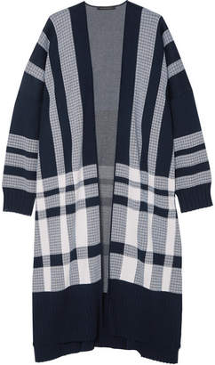 Mother of Pearl Etna Cotton Cardigan - Navy