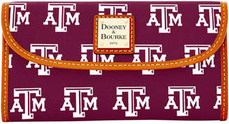 Dooney & Bourke NCAA Texas A&M Continental Clutch