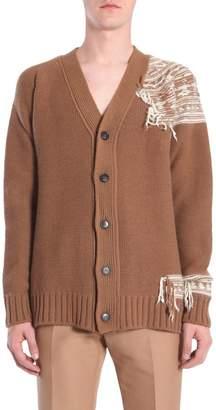 N°21 N.21 V Collar Cardigan