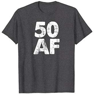 Abercrombie & Fitch Vintage 50 Made In 1968 T-Shirt 50th Birthday Old