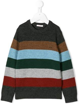 Sun 68 striped jumper