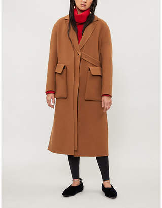 Jil Sander Single-breasted wool coat