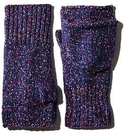 Rag & Bone Marled Pop Top Mittens