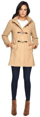 Vince Camuto Hooded Toggle Closure Wool Coat L8311 Women's Coat