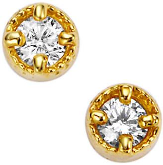 Classic Jewels K18YG ダイヤモンド ピアス イエローゴールド
