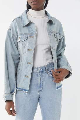 Urban Outfitters Tailored Denim Trucker Jacket