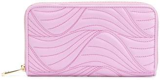 Salvatore Ferragamo zipped stitch wallet