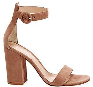 Gianvito Rossi Women's Portofino Block Heel Sandals