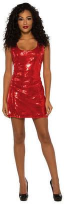 BuySeasons Women Sassy Red Sequin Dress Adult Costume