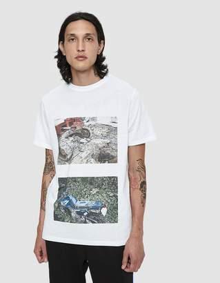 Soulland S/S Haku T-Shirt in White