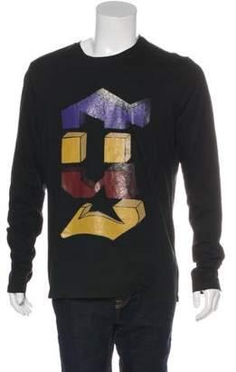Galliano Graphic Crew Neck Sweatshirt w/ Tags