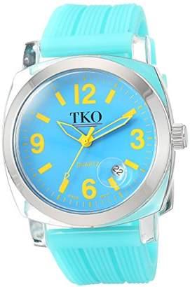 TKO ORLOGI Women's TK558-NTQ Milano Junior Acrylic Case Dial Watch
