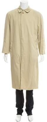 Burberry Nova Check Lined Trench Jacket
