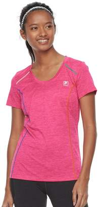 Fila Sport Women's SPORT Space-Dyed Short Sleeve Tee