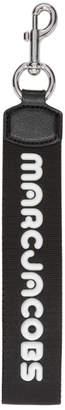 Marc Jacobs Black Logo Webbing Bag Charm