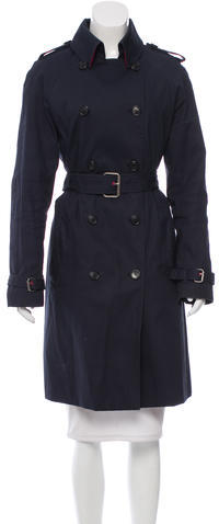 Hunter Hunter Belted Trench Coat