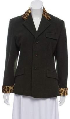 Ralph Lauren Structured Wool Blazer