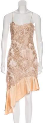 Jonathan Simkhai Lace Fringe Dress w/ Tags Tan Lace Fringe Dress w/ Tags