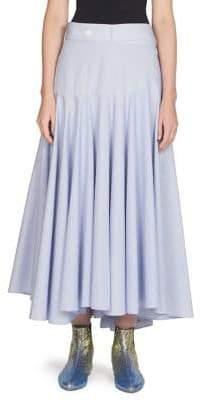 Loewe Pleated Skater Skirt