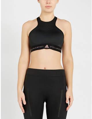 78a72320311 adidas by Stella McCartney Hiit racerback stretch-jersey sports bra