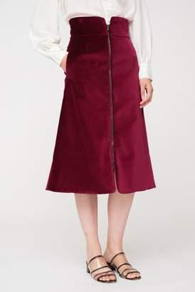 Sea Velvet Skirt