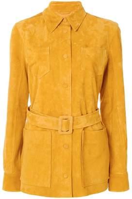 Victoria Beckham Victoria belted waist shirt jacket