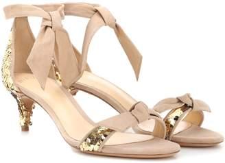 Alexandre Birman Clarita embellished suede sandals