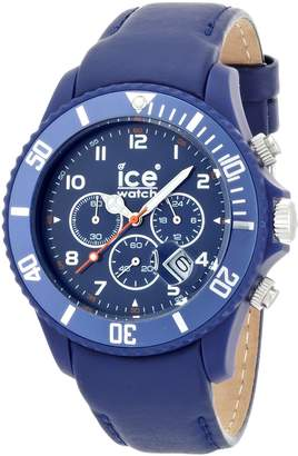 Ice Watch Ice-Watch Men's Chrono CH.BE.B.L.11 Calf Skin Quartz Watch with Dial