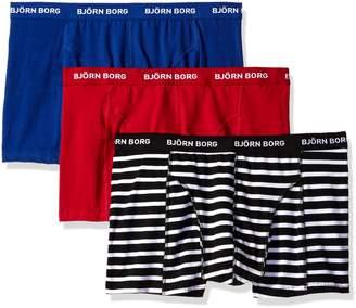 Bjorn Borg Men's 3-Pack Stripe Trunk